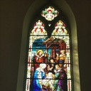Window 6:  The Nativity - the Birth of Our Lord